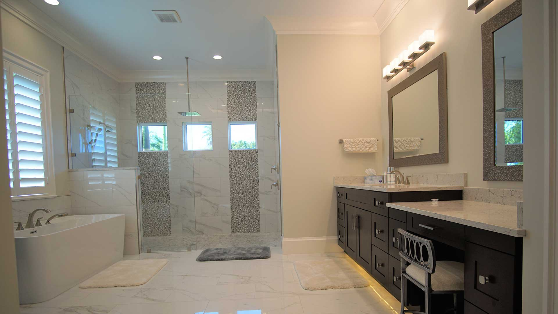 Bathroom remodel by Spec Development in Naples, FL