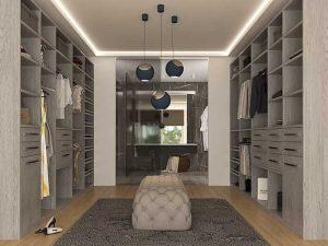 custom closets by Albi walk-in closet