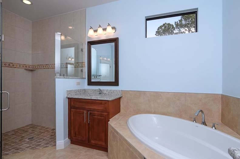 master bathroom remodel in Naples, Fort Myers, FL