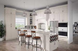 Royal Albi Kitchen Cabinets, elegant and versatile for a Southwest Florida home