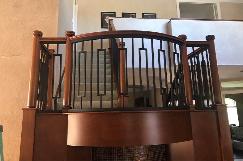 Staircase remodel, home remodel, fort myers, naples